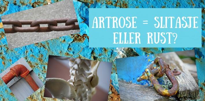 Artrose, er det pga slitasje eller rust?