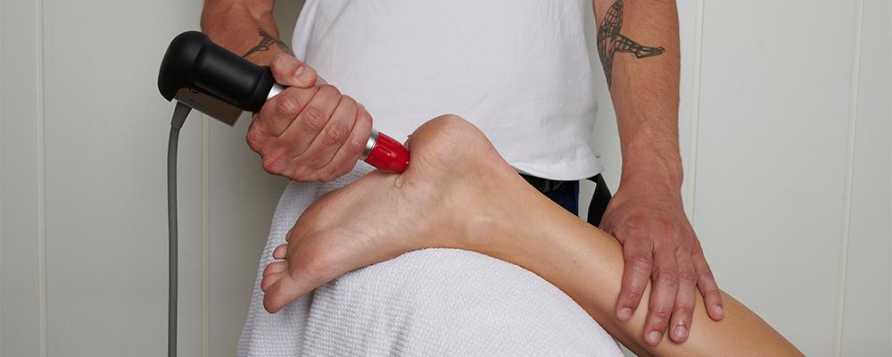 Behandling av fotproblemer