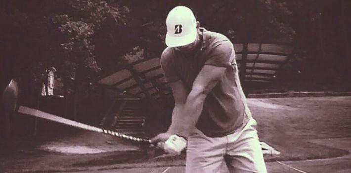 Naprapati + oppvarming = gode golfresultater
